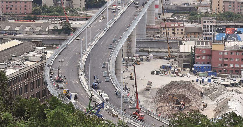 Ponte di Genova fuori norma, verso il limite di 70km all'ora thumbnail