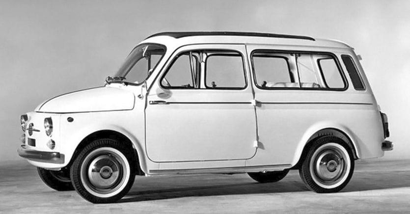 Per famiglia e per trasporto: un gioiellino chiamato Fiat 500 Giardiniera