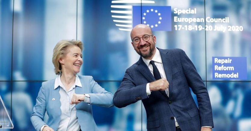 Accordo sul Recovery Fund: prima volta debito Ue in comune. Italia, uso dei fondi sotto la lente thumbnail