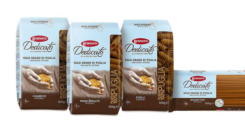 Integrale e con solo grano pugliese al 100%: sugli scaffali la pasta a filiera corta Granoro