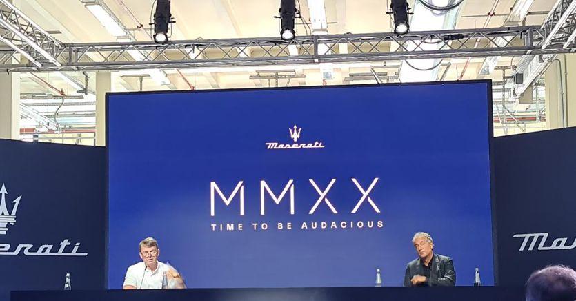 Manley: «2.5 miliardi per mettere Maserati al centro di Stellantis» thumbnail