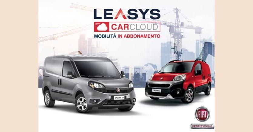 Leasys CarCloud PRO, l'abbonamento ai veicoli commerciali su Amazon