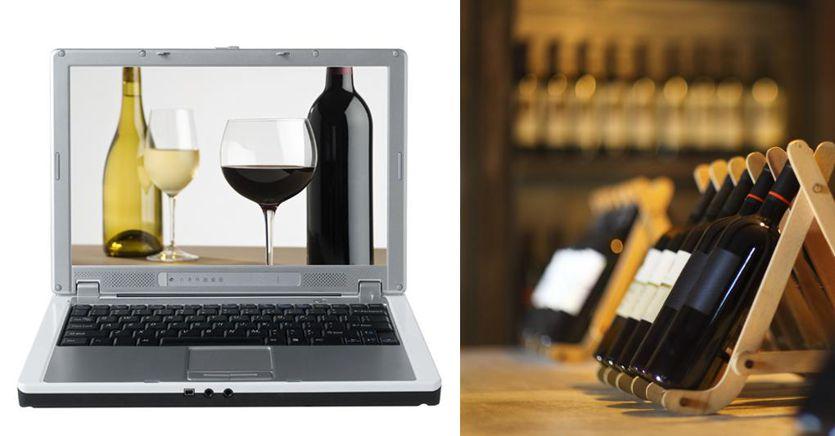Giro d'affari a 200 milioni per l'e-commerce del vino in Italia