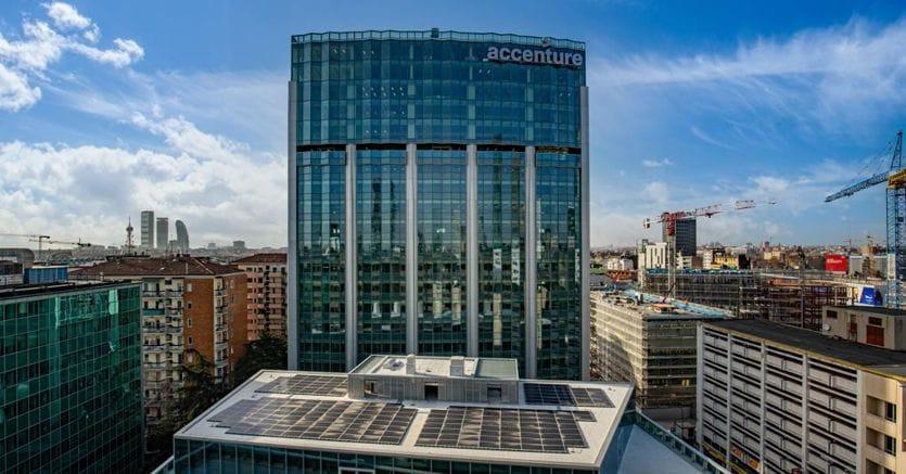 Accenture, pronta la nuova sede di via Bonnet a Milano ...
