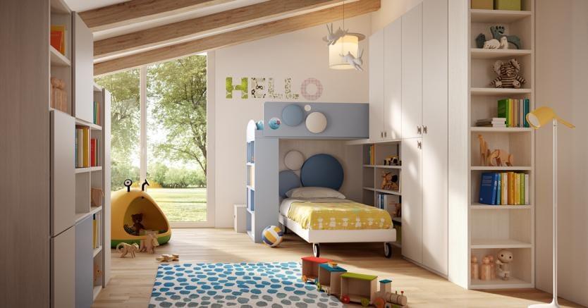Camera Dei Bambini Come Sfruttare Al Meglio Lo Spazio Il Sole 24 Ore