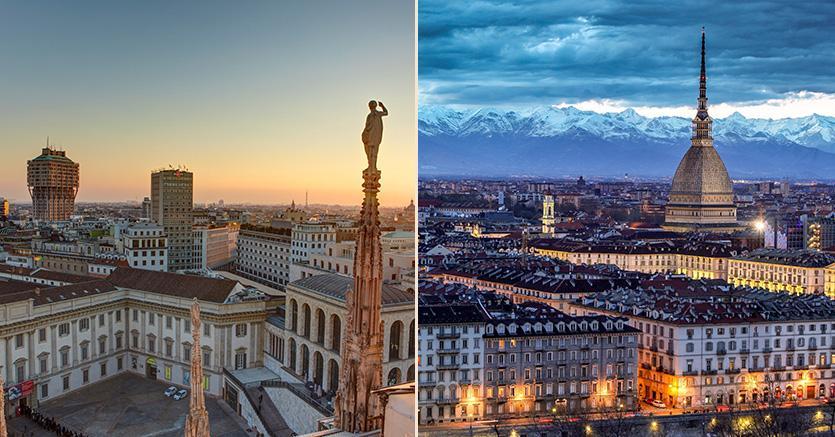 Torino e Milano grazie a queste nuove iniziative potranno contribuire a rendere l'Italia un Paese competitivo grazie alle nuove tecnologie