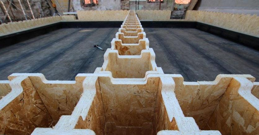 Un elemento del progetto XYLiving di Saint Gobain