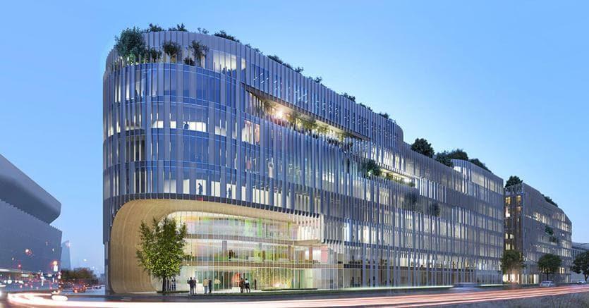 Il progetto Origine (courtesy Maud Caubet Architectes & Quadrifiore Architecture)