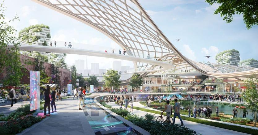 Cos sar il centro commerciale del futuro il sole 24 ore - Casa centro commerciale da vinci ...