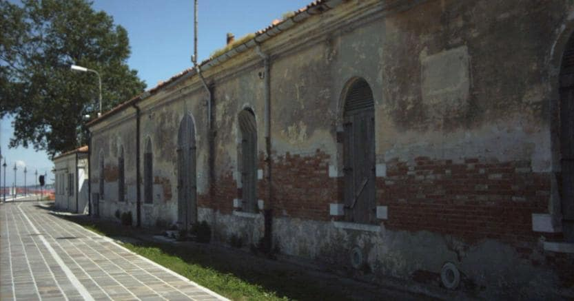 Ciclovia ex caserma Alberoni (venezia)