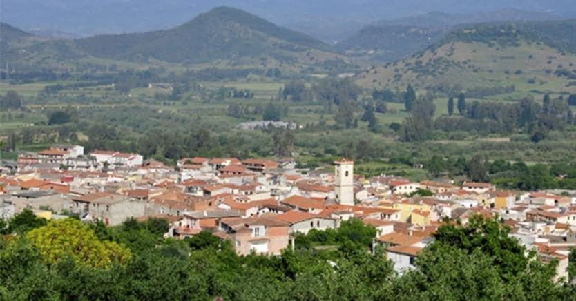 Panorama di Galtellì (Nuoro) dal monte Tuttavista (Comune di Galtellì)