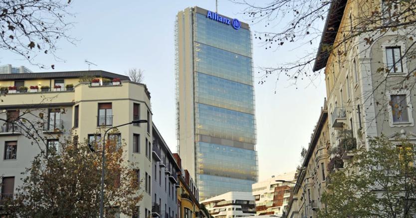 Il gruppo Focchi ha costruito le facciate continue della Torre Allianz-Isozaki. (Fotogramma)