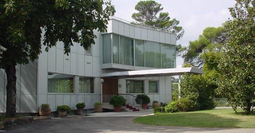 La sede delal Scuola di automazione per dirigenti bancari che bankitalia ha messo in vendita