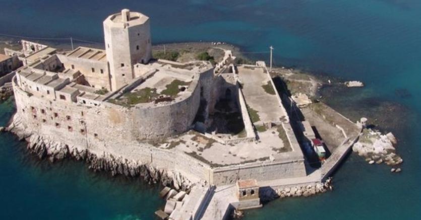 Il Castello della Colombaia di Trapani è uno dei nuovi beni del bando del Demanio