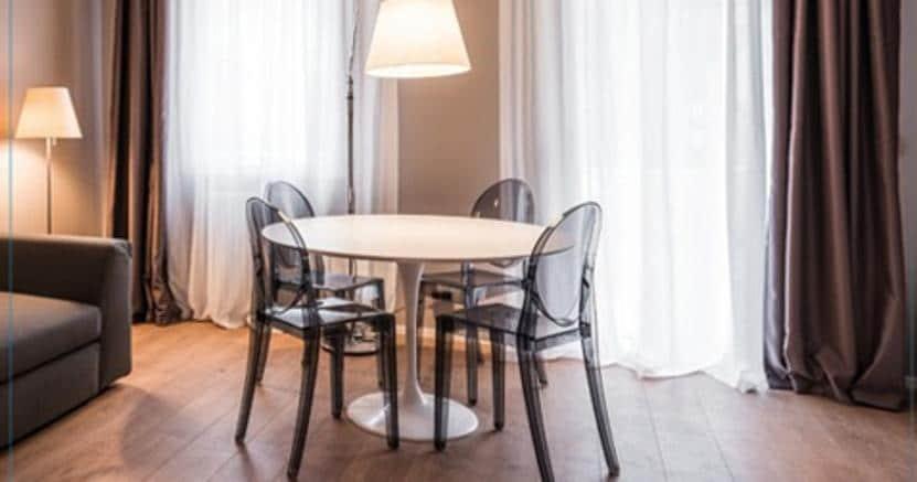 Il format degli appartamenti  destinati allo short rent di MyPlace (credit: My Place)