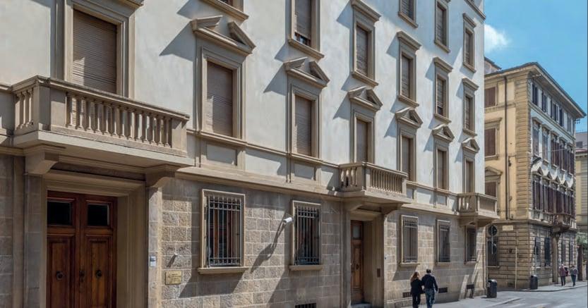 Tra le ultime sottoscrizioni avviate dalla piattaforma Walliance.eu, un investimento sul recupero di Palazzo Cavour a Firenze