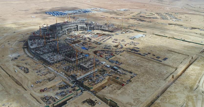 A Riad, dove oggi lavorano 250 persone, Manens-Tifs segue in qualità di Pcm la costruzione di due Medical Cities da 2,5 milioni di metri quadrati.