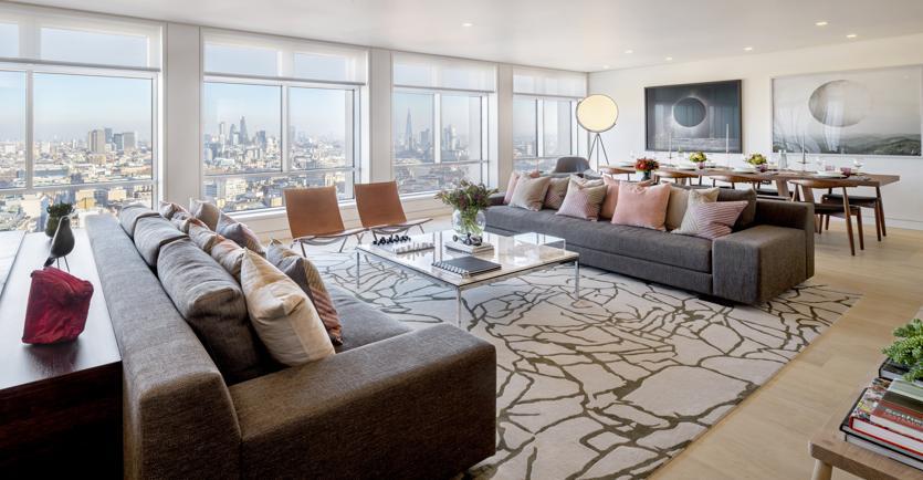 Un appartamento nel nuovo Centrepoint di Londra