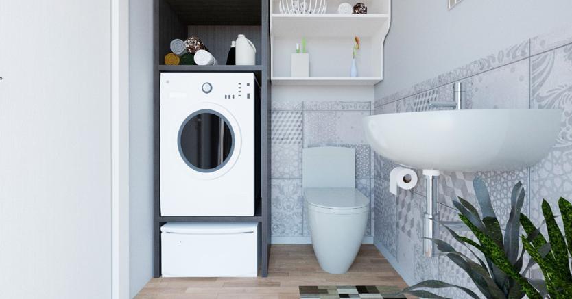 Trasformare Lavanderia In Bagno : Come organizzare al meglio un bagno con lavanderia il sole ore