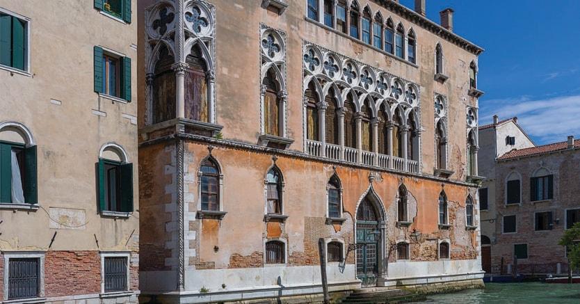 Venezia.Palazzo Donà Giovannelli a Cannareggio