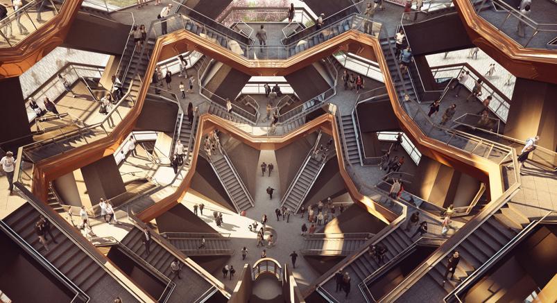 Il Vessel di Heatherwick Studio sarà un nuovo  punto di riferimento  a New York