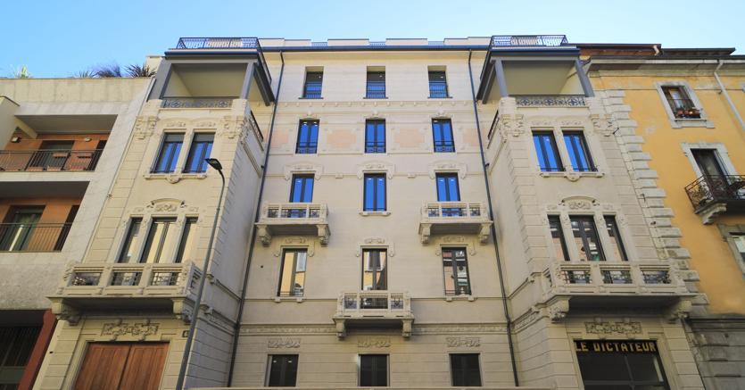 A Milano, in via Paisiello 6, FuturDome  è un progetto di housing museale che recupera un palazzo storico della città
