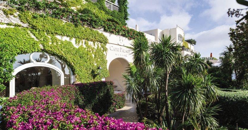 Il Capri Palace del gruppo Mytha Antology è in vendita per cento milioni di euro