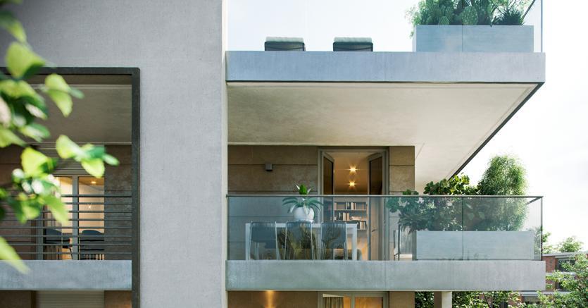 Il progetto residenziale Porta dei Leoni a Roma, in zona Trastevere