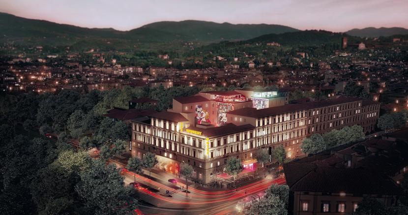 Lo Student hotel Lavagnini a Firenze è tra i progetti italiani nella rosa dei candidati al Mipim award assieme al CityLife shopping district di Milano e al Club Med di Cefalù in Sicilia