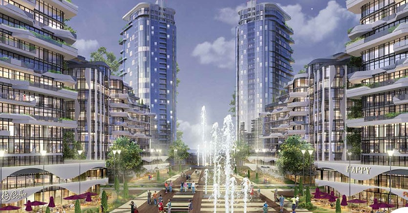 Lo sviluppo di un progetto urbano a Kiev