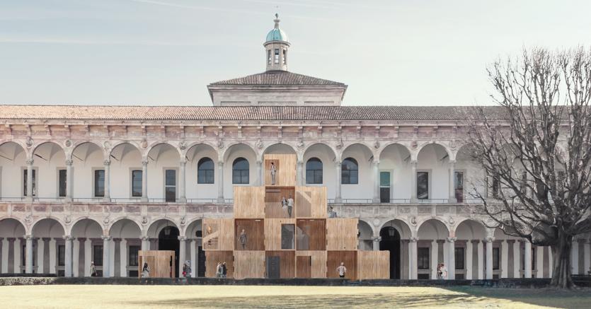 Multiply di Arup nello spazio  Interni Human Spaces alla Statale di Milano