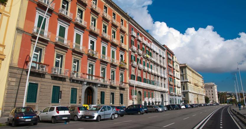 Via Caracciolo a Napoli (Marka)