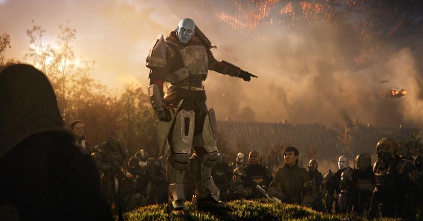 Il comandante Zavala, il capo dei Titani della celebre serie di videogiochi «Destiny»