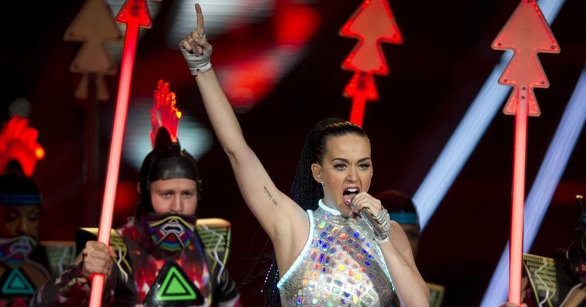 Katy Perry in concerto alla Unipol Arena di Casalecchio di Reno