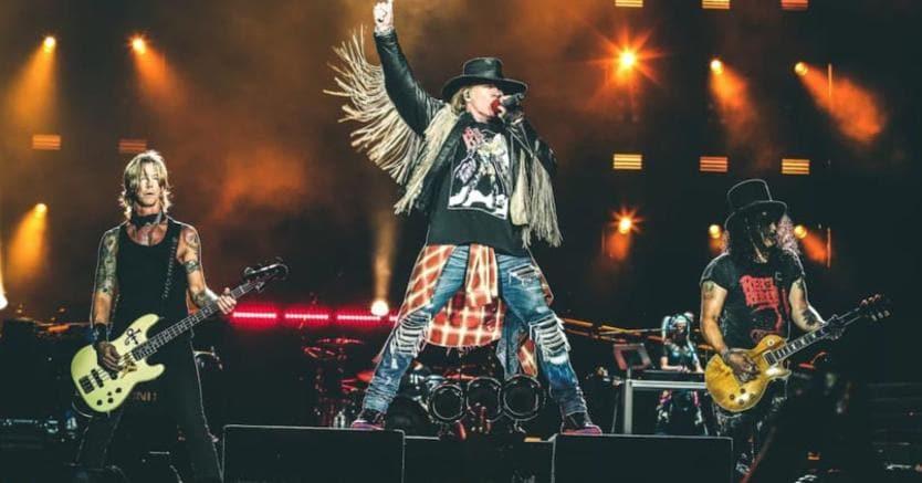 I Guns n' Roses di scena al Firenze Rocks