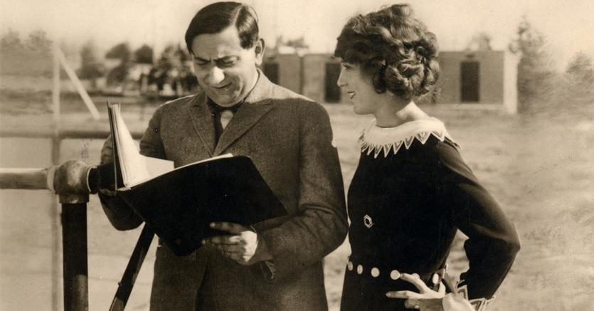 Lubitsch con  Trude Hesterberg (Bella Spaketti)