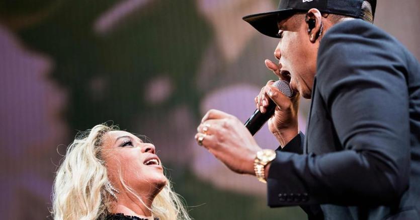 Beyoncé e Jay-Z, coppia milionaria del pop di scena a San Siro di Milano e all'Olimpico di Roma (Afp)
