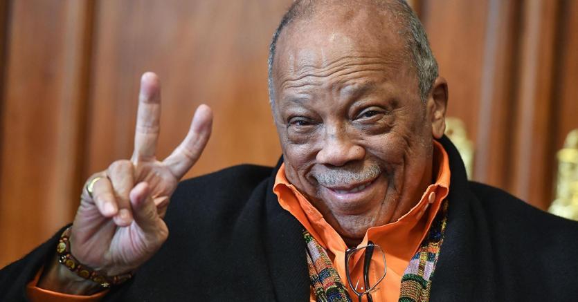 Quincy Jones, genio assoluto della musica americana, protagonista di Umbria Jazz 2018 (Ansa)