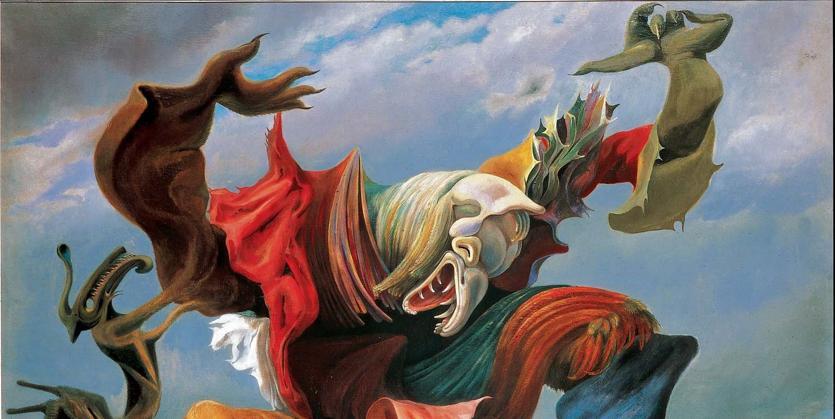 Max Ernst, «L'ange  du foyer», 1937,  collezione privata