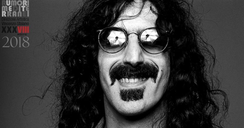 Frank Zappa, protagonista della 38esima edizione di «Roccella Jazz»