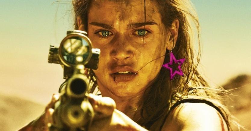 Da una scena del film «Revenge» della francese Coralie Fargeat