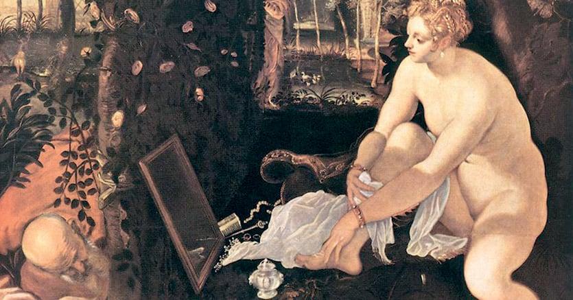 Capolavoro. Tintoretto, «Susanna e i vecchioni» (1555 ca), Vienna, Kunsthistorisches Museum