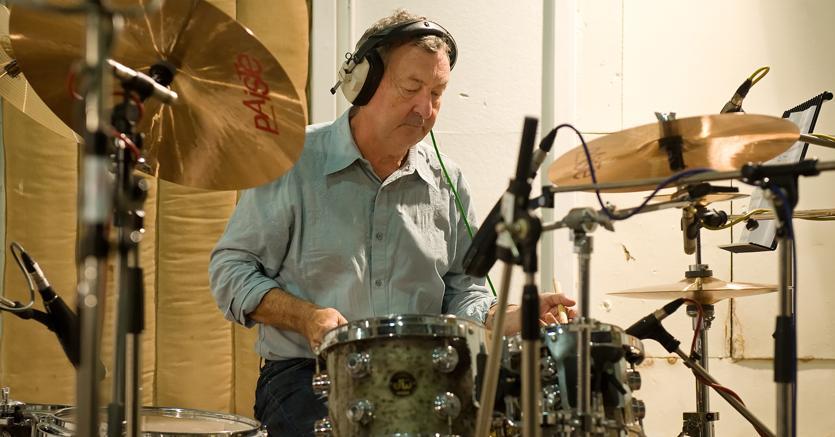 Nick Mason, batterista dei Pink Floyd, a Milano con il progetto Saucerful of Secrets sui primi anni di attività della band (Afp)