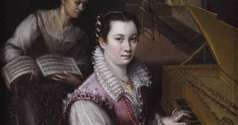 Autoritratto Dipinto. di  Lavinia Fontana, nell'ambito della mostra «Da Raffaello  a Canova, daValadier a Balla. L'arte in cento capolavori dell'Accademia Nazionale di San Luca»  che chiude oggi a Perugia