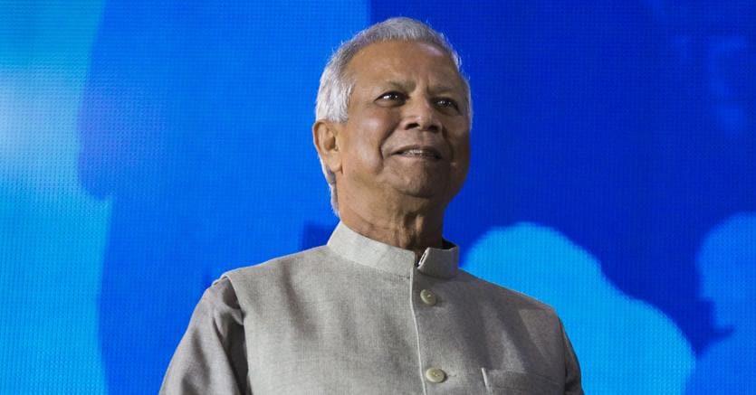 Muhammad Yunus, classe 1940, economista delBangladesh e Premio Nobel per la pace nel 2006
