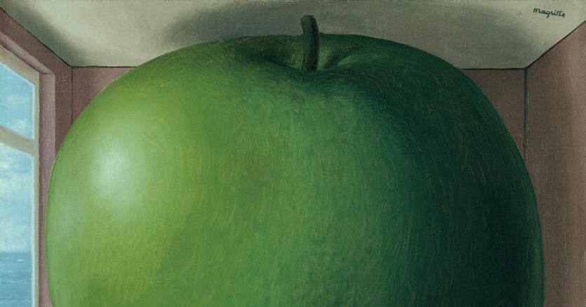 Surreale. «La chambre d'écoute» 1958, di René Magritte al MASI di Lugano fino al 6 gennaio nell'ambito della mostra «Magritte. La Ligne de vie»