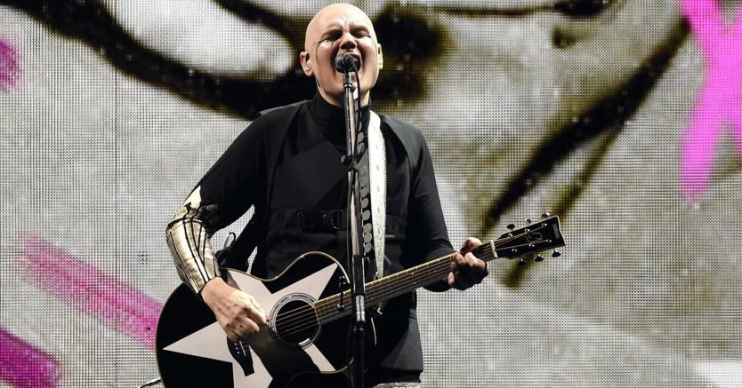 Billy Corgan sarà con gli Smashing Pumpkins a Bologna (Ansa)