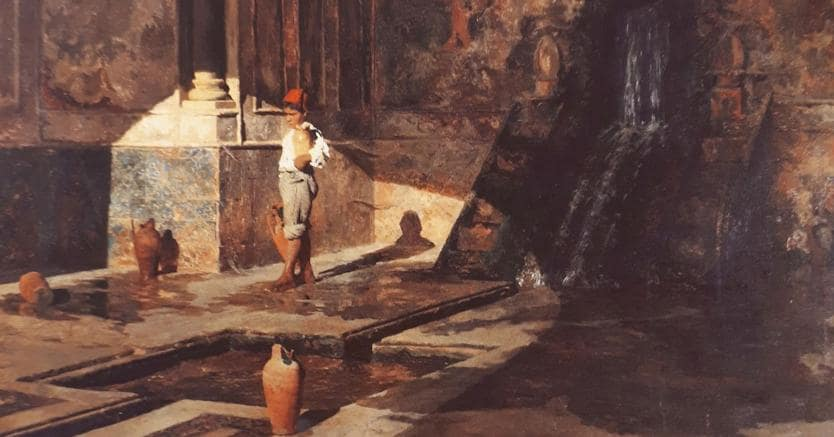 Salvatore Marchesi, Interno della Zisa ante 1888, Palermo, Camera di Commercio di Palermo ed Enna