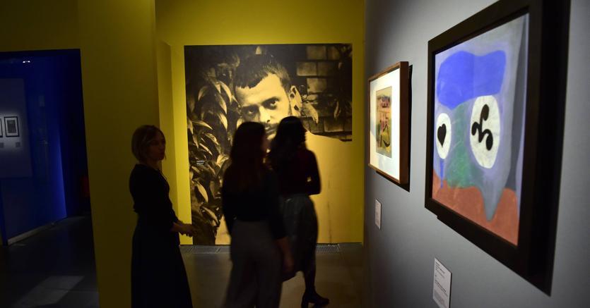 Apertura della Mostra Paul Klee Alle Origini dell' Arte al Mudec, Museo delle Culture di Via Tortona, Milano (Fotogramma)
