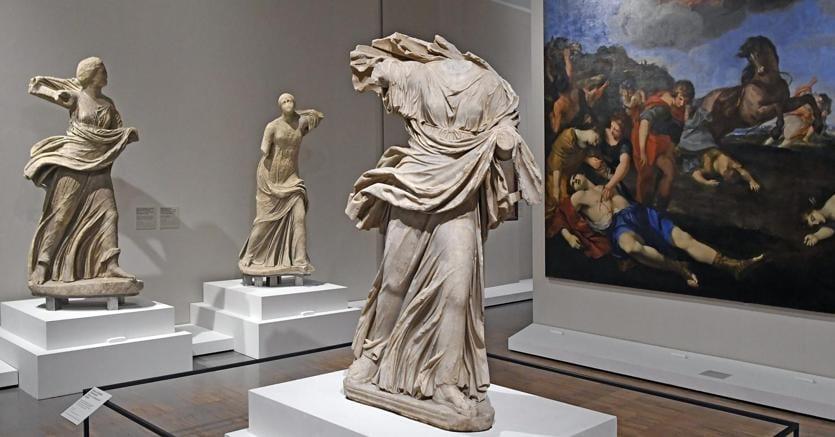 La mostra «Ovidio. Amori, miti e altre storie»,  a cura di Francesca Ghedini, alle Scuderie del Quirinale ( Mimmo Frassineti / AGF)